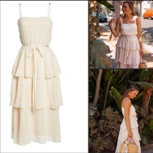 Gal Meets Glam Florence Chiffon Dress